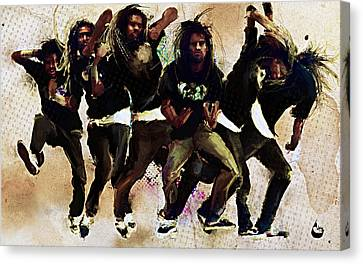 Krump 101 Canvas Print by Howard Barry