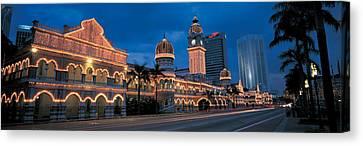Kuala Lumphur Malaysia Canvas Print by Panoramic Images