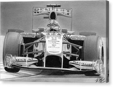 Kubica 2010 Canvas Print by Lyle Brown