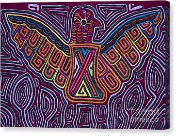 Kuna Design - Mola Canvas Print