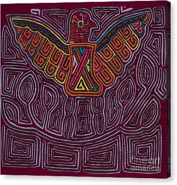 Kuna Mola Art Canvas Print