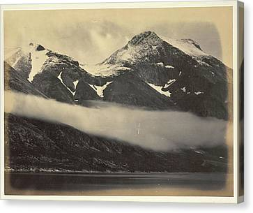 Kunal Mountain Canvas Print by British Library