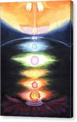 Kundalini Awakening Canvas Print by Shiva Vangara