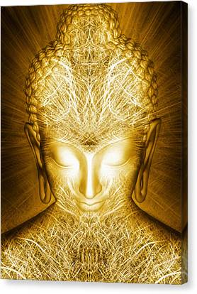 Canvas Print featuring the photograph Kundalini Awakening by Jalai Lama