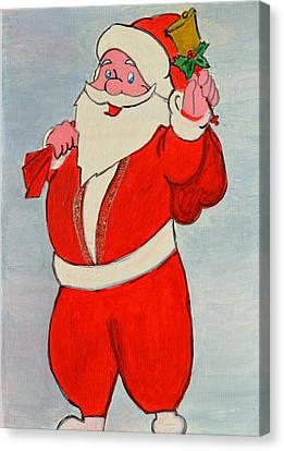 Kurdish Santa Clause  Canvas Print
