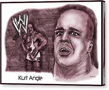 Kurt Angle Canvas Print