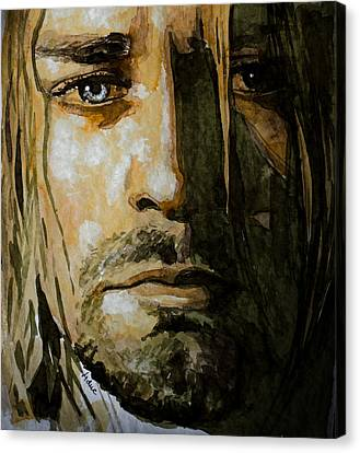 Kurt Cobain Canvas Print by Laur Iduc