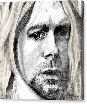 Kurt Canvas Print by Michele Engling