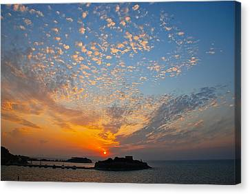 Kusadasi Sunset Canvas Print by Eric Tressler