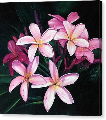 Kuu Morning Dew Canvas Print by Luane Penarosa
