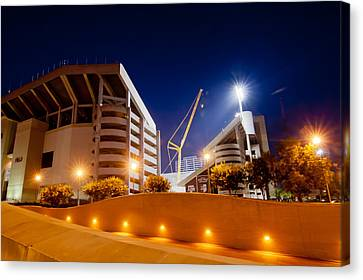 Kyle Field At Night Canvas Print