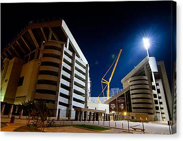 Kyle Field Construction Canvas Print