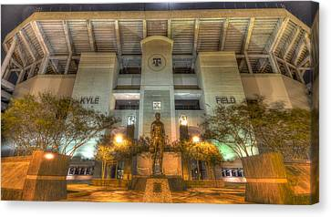 Kyle Field Canvas Print by David Morefield