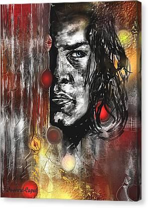 Kyle Canvas Print by Francoise Dugourd-Caput