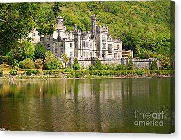 Canvas Print featuring the photograph Kylemore Abbey 2 by Mary Carol Story