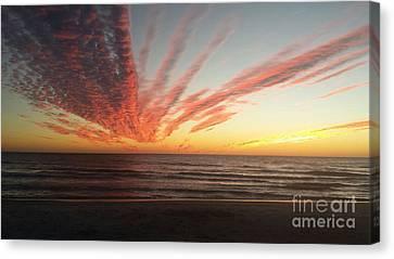 Kyra's Sunset Canvas Print