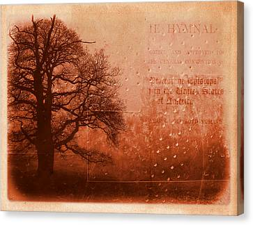 L Arbre De Vie - S33rd02 Canvas Print by Variance Collections