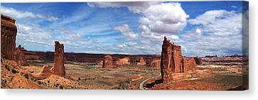 Tower Of Babel - Arches National Park Canvas Print
