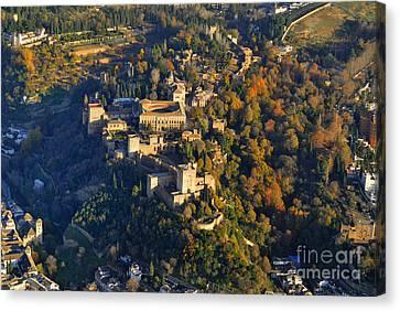 La Alhambra Canvas Print by Guido Montanes Castillo