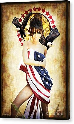La Americana Canvas Print by D H Carter