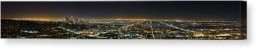 La At Night Canvas Print