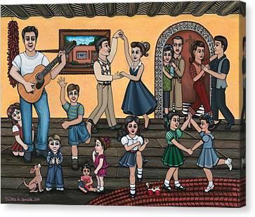 La Bamba Canvas Print by Victoria De Almeida