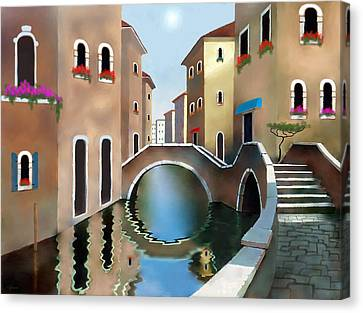 La Bella Vita Canvas Print