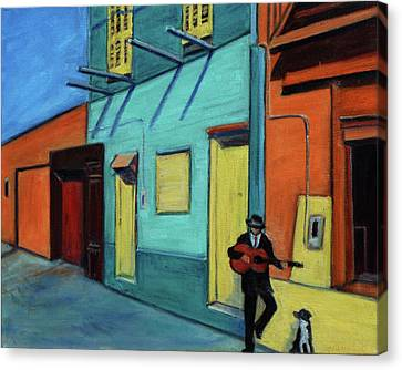 La Boca Morning II Canvas Print by Xueling Zou