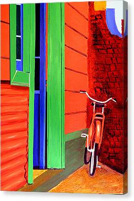 La Boca-reserved Parking Canvas Print