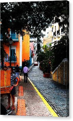 La Calle Canvas Print by Simone Hester