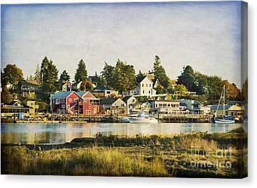 La Conner Waterfront Canvas Print