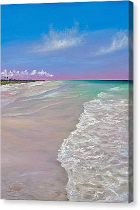 La Costa Canvas Print by Eve  Wheeler