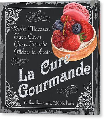 La Cure Gourmande Canvas Print by Debbie DeWitt