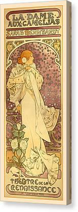La Dame Canvas Print by Gary Grayson