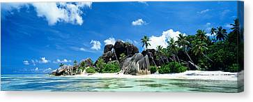 La Digue Seychelles Canvas Print by Panoramic Images