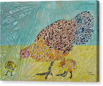 La Familia Canvas Print by Isaac Alcantar