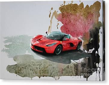 La Ferrari Canvas Print