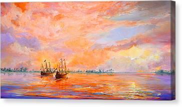La Florida Canvas Print by AnnaJo Vahle