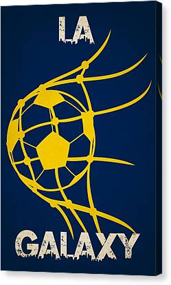 La Galaxy Goal Canvas Print