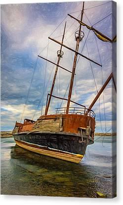 La Grande Hermine - Paint Canvas Print by Steve Harrington