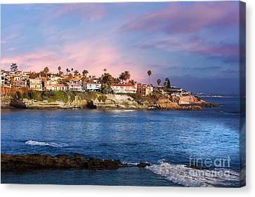 La Jolla California Usa Beach Canvas Print
