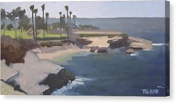 La Jolla Cove Canvas Print by Marcus Thorne