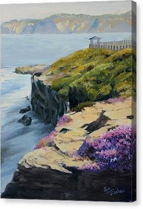 La Jolla Cove Canvas Print