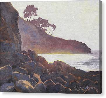 La Jolla Light Canvas Print by Anna Rose Bain