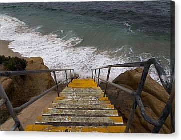 La Jolla Stairs Canvas Print