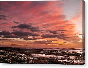 La Jolla Sunset 1 Canvas Print by Lee Kirchhevel