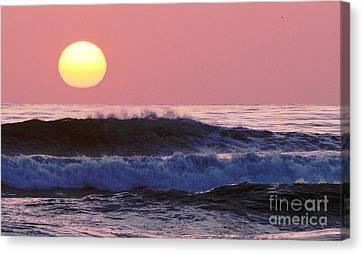 La Jolla Waves Canvas Print