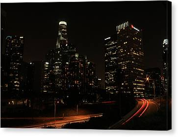 LA Canvas Print by Kevin Ashley