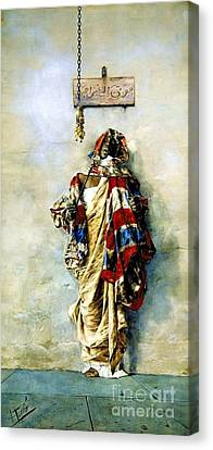 La Ladrona Canvas Print by Pg Reproductions