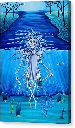 La Llorona Arrepentida Canvas Print